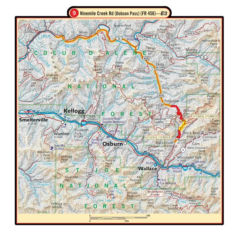 Idaho G1 Map 4th Edition – Butler Motorcycle Maps