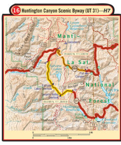 Utah G1 Map 5th Edition – Butler Motorcycle Maps