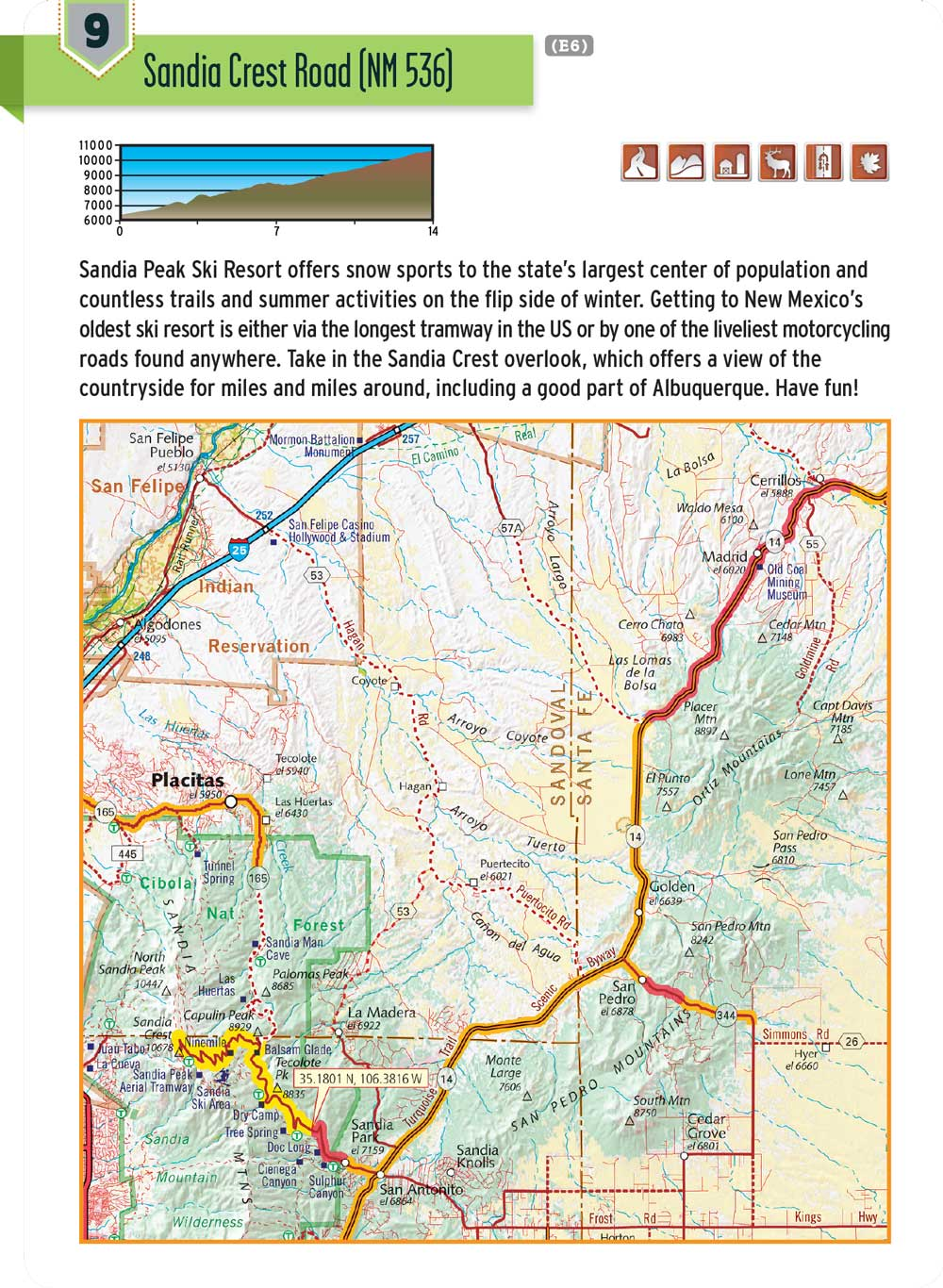 New Mexico G1 Map – Butler Motorcycle Maps