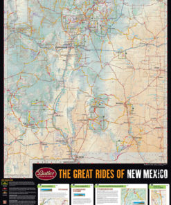 Map Of Arizona And New Mexico.New Mexico G1 Arizona G1 Collection Wolfman Map Case Butler